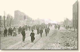 The San Francisco Earthquake, 1906