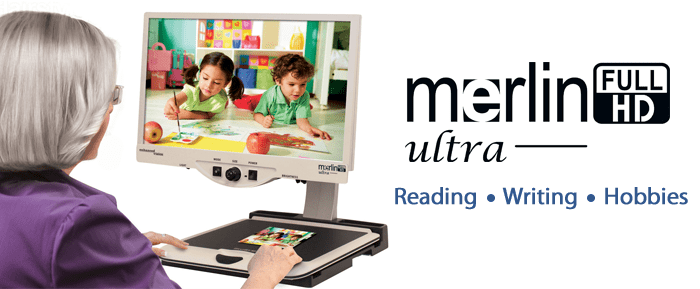 merlin-ultra-HD Magnifier