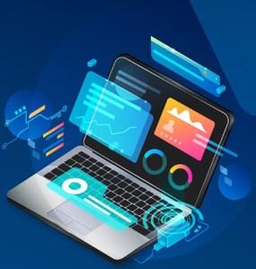 Web-mobile development banner