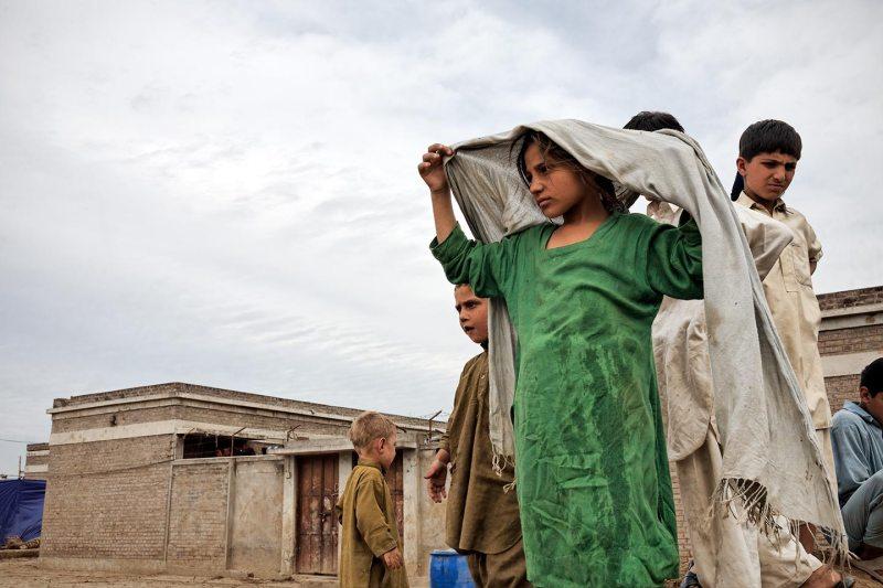 Charsadda, an IDP camp in Palosa school