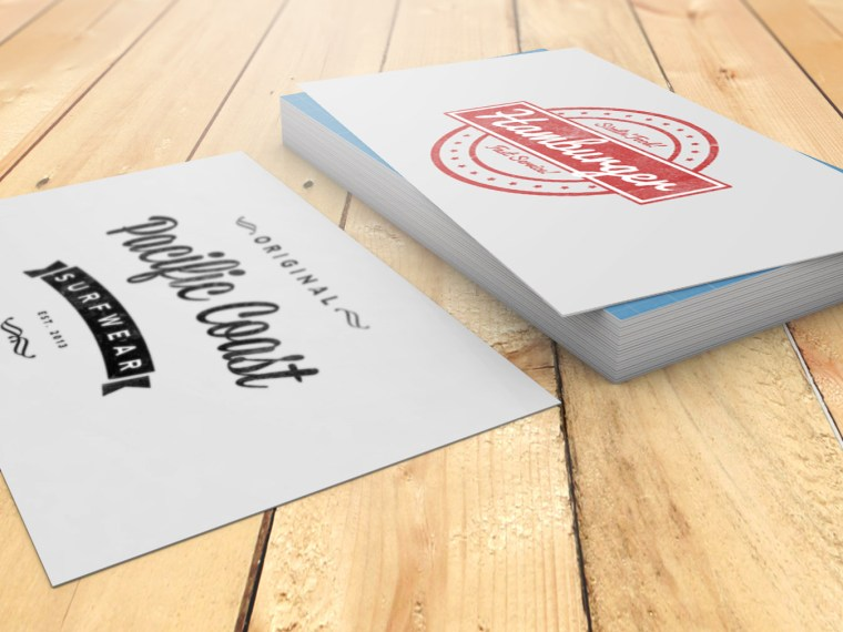 Awesome Business Card Mockup