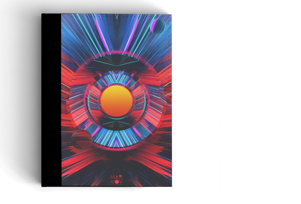 Notebook Cover Mockup