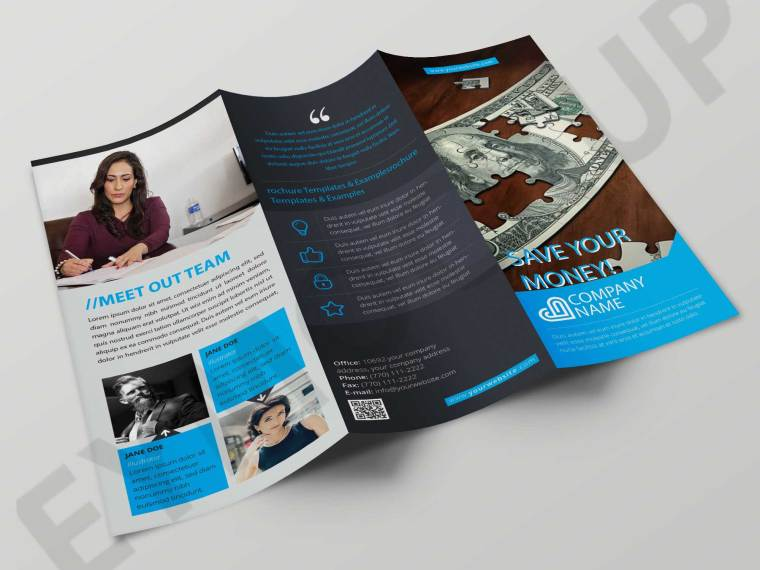 Save Money Tri-fold Brochure
