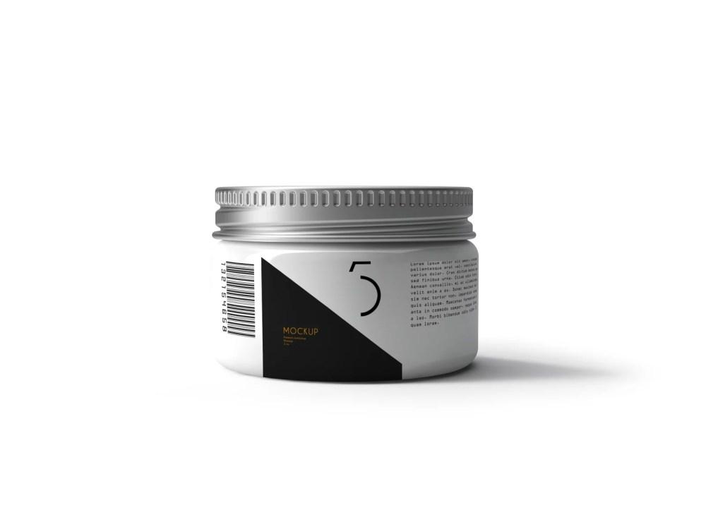 Cosmetic Label Mockup