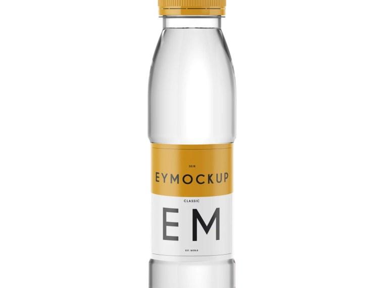 Jal Premium Bottle Label Presentation Mockup