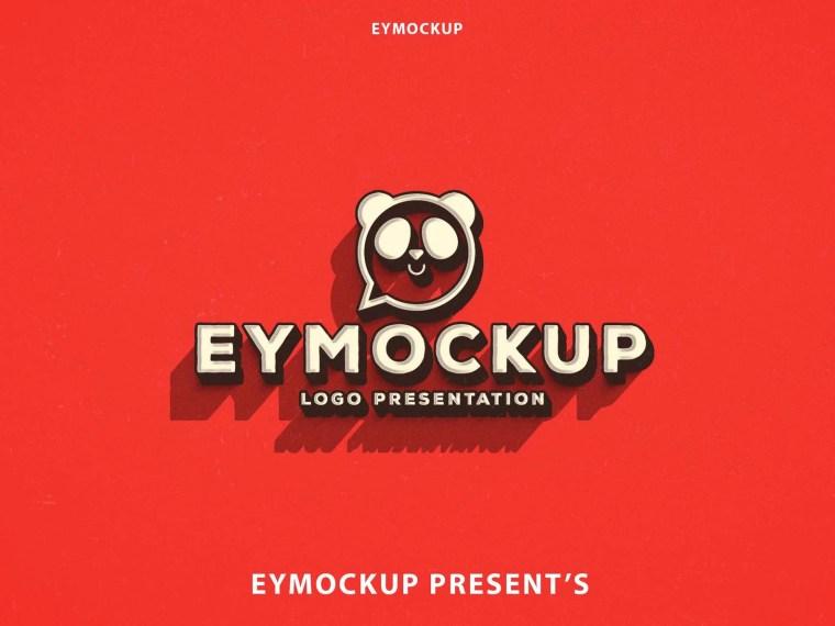 Premium Design Logo Mockup