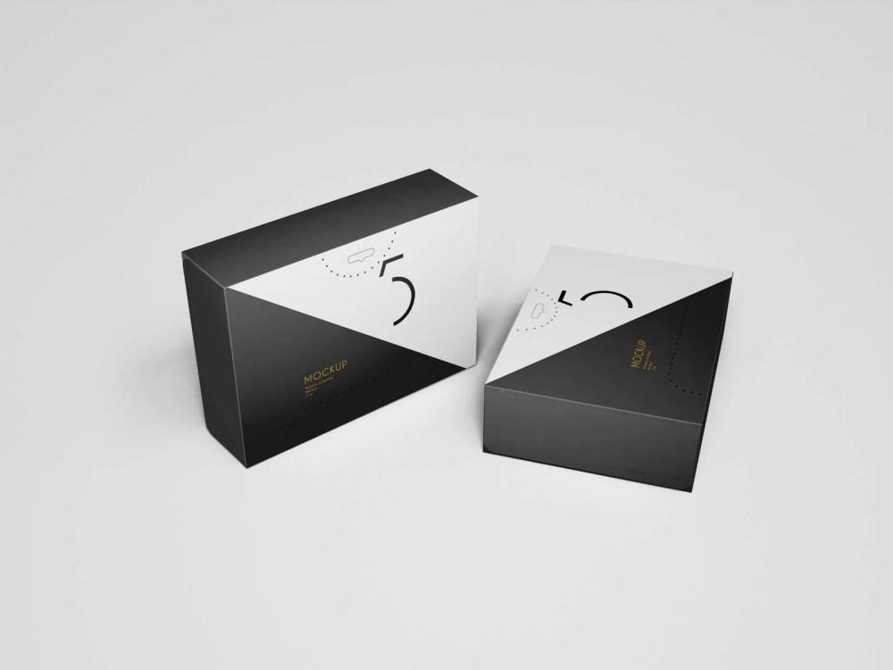 Premium Quality Packaging Box Mockup