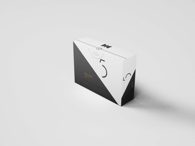 3D Box Package Mock-up Download