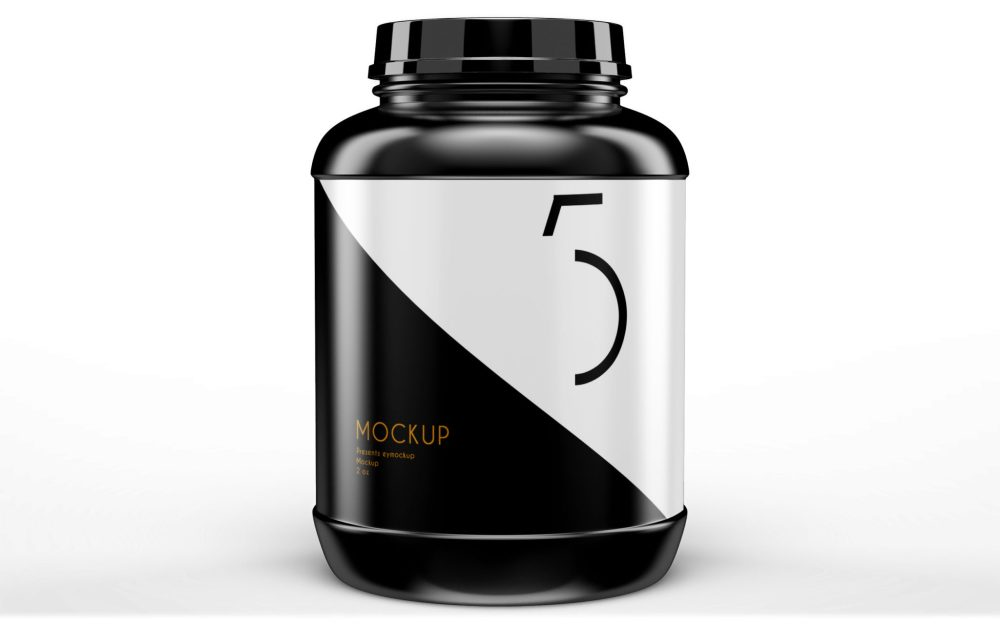 Supplement Mockup