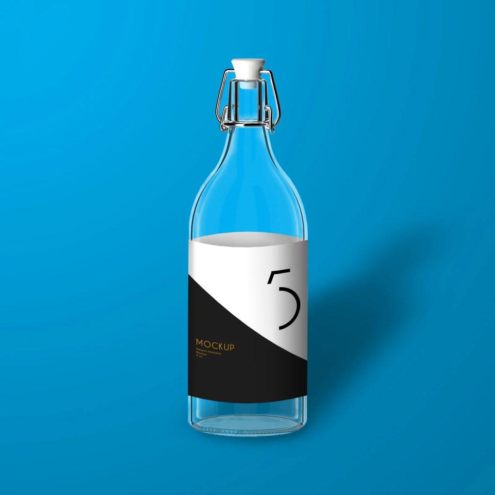 Bottle Mcokup