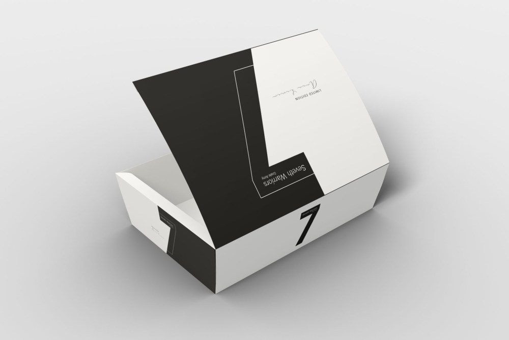 Tapered Box Packaging Mockups