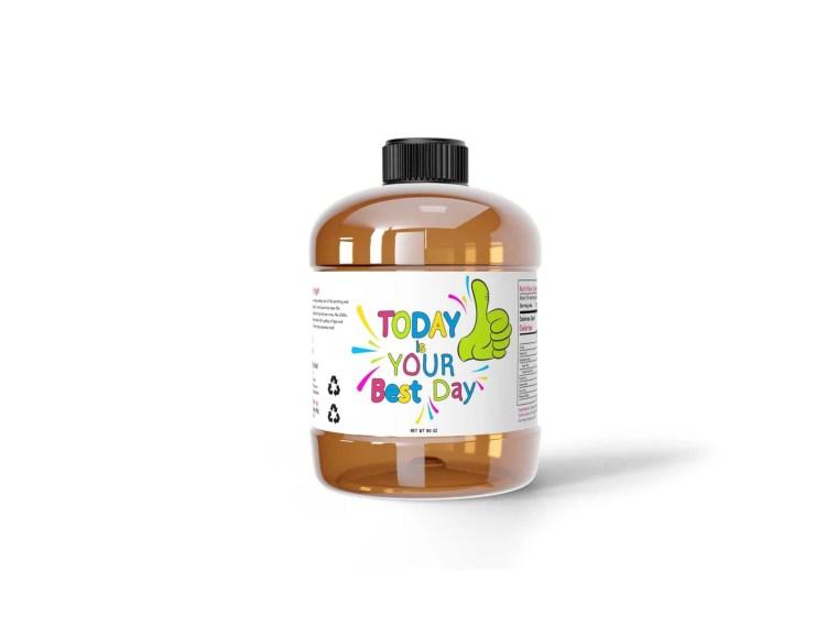 Premium Detergent Powder Bottle Mockup