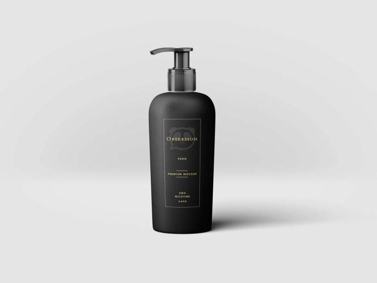 Dettol Hand Wash Bottle Label Mockup