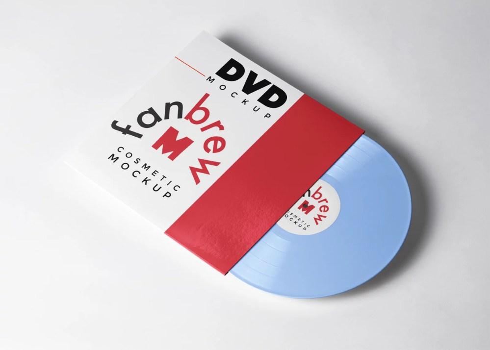 DVD Case Design Mockup