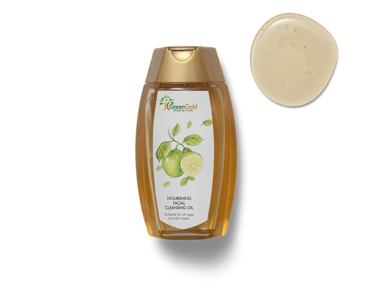 Pure Green Honey Bottle Label Mockup