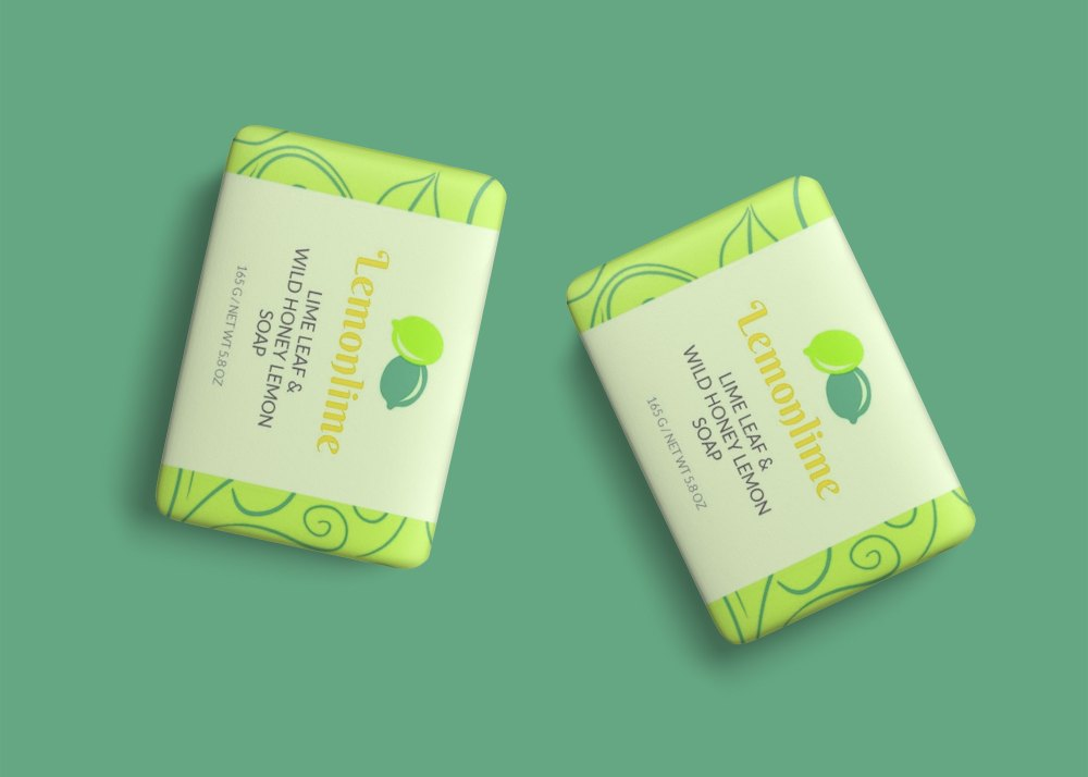 Soap Label Design Mockup