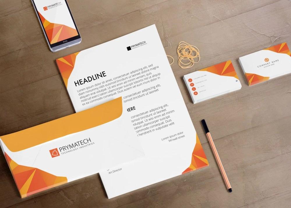 Company Branding Identity Mockups