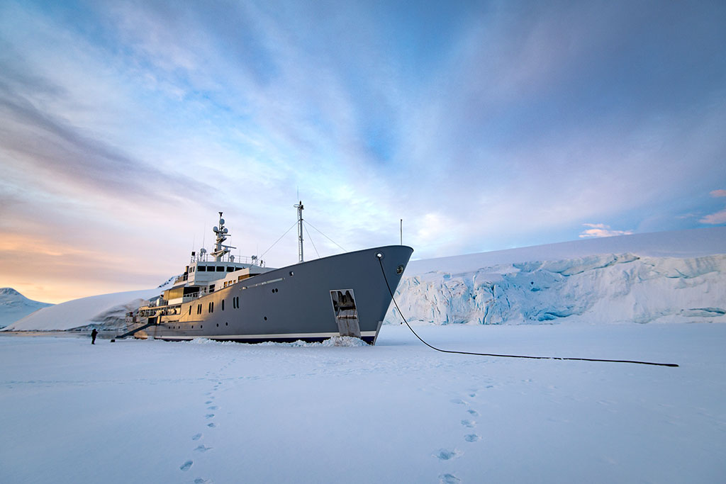 ENIGMA XK Luxury Expedition Yacht EYOS Expeditions