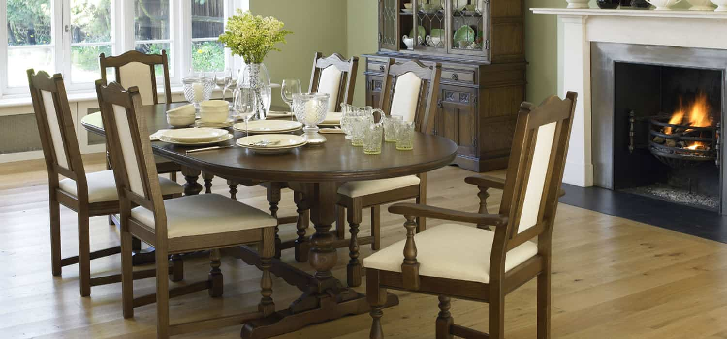 Wood Brothers Dining From Eyres Home Chesterfield