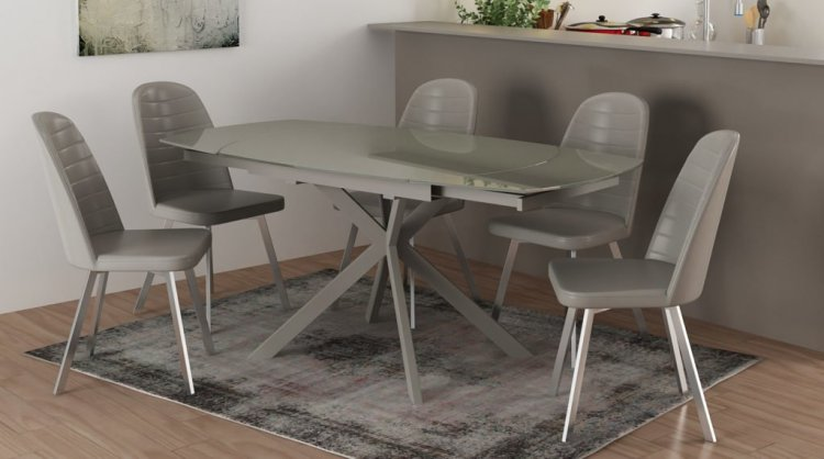 Metz Motion Dining Table 4 X Chairs Eyres Furniture