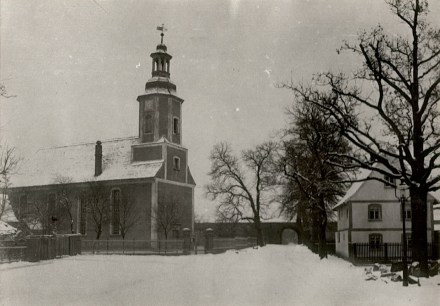 1910 Kirche zu Eythra erstes Foto