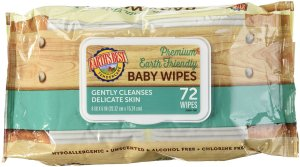 Earth's Best Tender Care Baby Wipes - Unscented - 72 ct