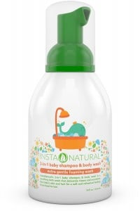 InstaNatural Baby Shampoo & Body Wash - With Aloe Vera, Vitamin E, Lavender Oil and Fruit Extracts