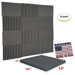 Mybecca Acoustic Wedge Studio Soundproofing Foam Wall Tiles