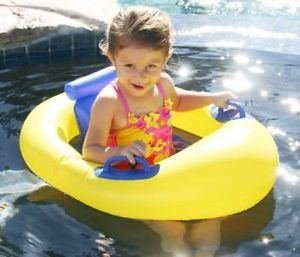 Baby Float Seat Child Swimming Pool Learn to Swim Ring Inflatable Toy