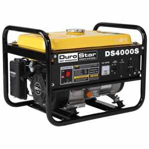DuroStar DS4000S, 3300 Running Watts4000 Starting Watts, Gas Powered Portable Generator