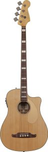 Fender Kingman SCE Dreadnought Cutaway Acoustic-Electric Bass - Natural