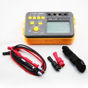 VICTOR VC60B+ Digital Insulation Resistance Tester Megohm Meter DC2505001000V AC750V 0.1~2000M