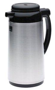 Zojirushi Premium Thermal 1-Liter Carafe, Brushed Stainless Steel