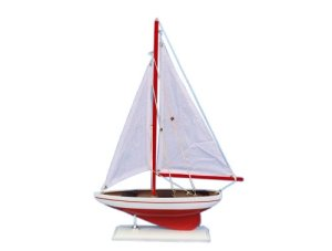 Hampton Nautical Pacific Sailer Sailboat