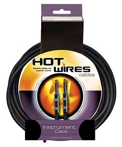 Hot Wires Guitar Instrument Cables