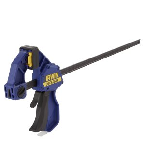 IRWIN Tools QUICK-GRIP SL300 Series One-Handed Bar Clamp and Spreader