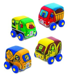 Melissa & Doug Pull Back Construction Vehicles