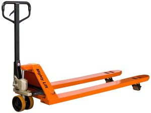 Mighty Lift ML55L Super Easy Pull Pallet Jacks Trucks, 5,500 lb Capacity, 27 x 48 Fork