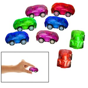 Toy Cubby Mini Pull Back and Go Fast Racing Car