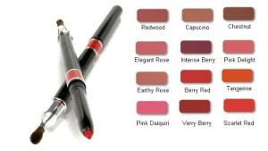 Waterproof Automatic Lip Pencil W Brush