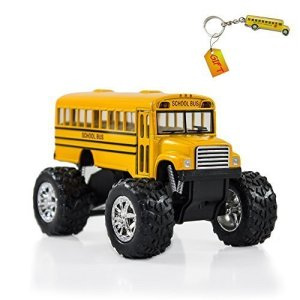 Yellow Monster School Bus