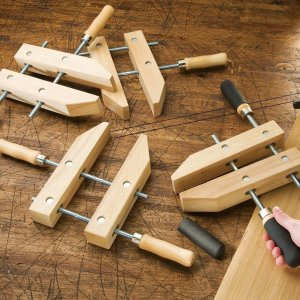 8 Wooden Handscrew Clamp