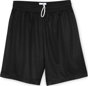 Badger Men's Mini-Mesh 7-Inch Shorts 7237-Silver-S