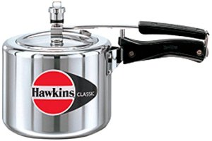 HAWKIN Classic CL3T 3-Liter New Improved Aluminum Pressure Cooker, Small