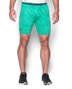 UA Men's HeatGear Armour Printed Compression Shorts