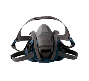 3M 6503QL Rugged Comfort Quick Latch Half Facepiece Reusable Respirator, Large