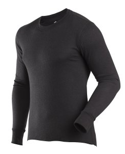 ColdPruf Men's Basic Dual Layer Crew Neck Base Layer Top
