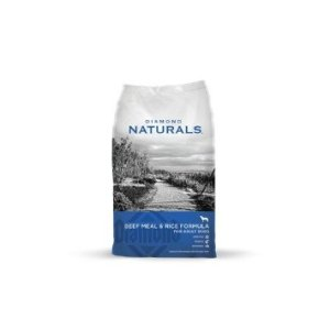 Diamond Naturals Dry Food for Adult Dogs, 40 Pound Bag