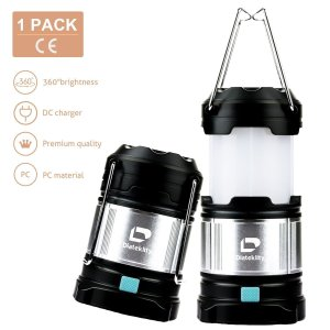 Diateklity LED Camping Lantern, LED Lantern Flashlights for Hiking, Camping, Collapsible Camping Lights