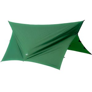 Go Outfitters Apex Camping ShelterHammock Tarp, Forest